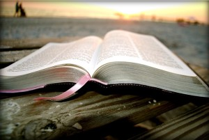 Bible by the sea